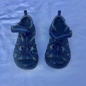 Merrell Hydro Hiker sandal blue. 1